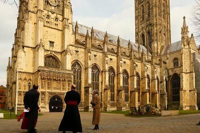 Cat crashes Canterbury Cathedral's morning prayer livestream