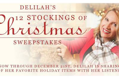 Delilah's 12 Stockings of Christmas Sweepstakes Prizes!