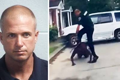 S.C. police officer fired, charged after bodycam video shows him stomping on Black man's head