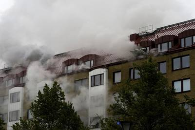 Sweden explosion: Up to 20 hurt in apartment blast