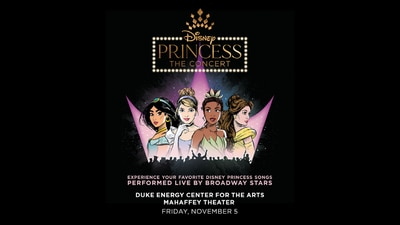 Enter for your chance to win a 4-pack of tickets to Disney Princess: The Concert!