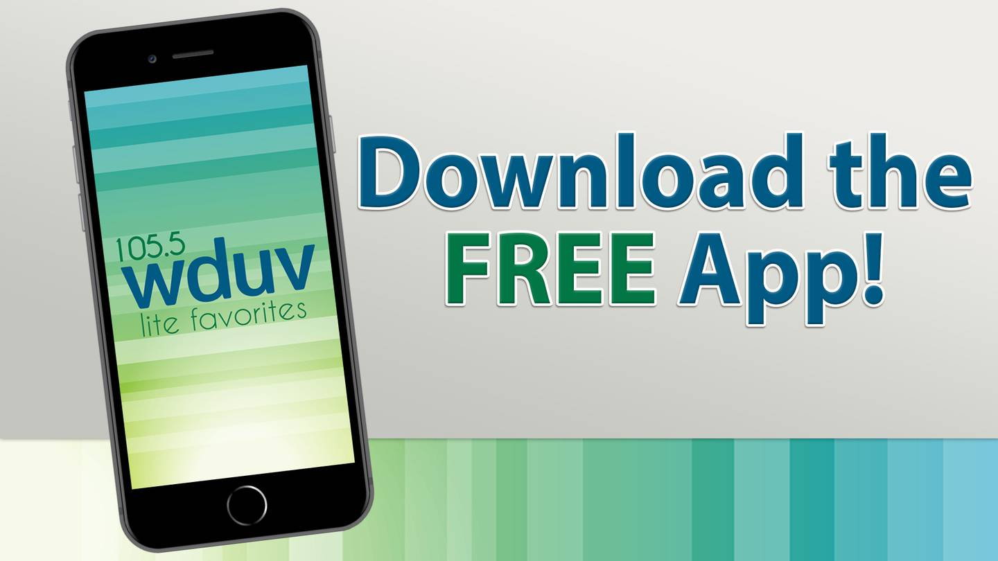 Download the FREE WDUV 105.5 The Dove App!